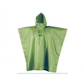 PONCHO UNISEX CAMP  1997 4 RAIN STOP VERDE MILITARE