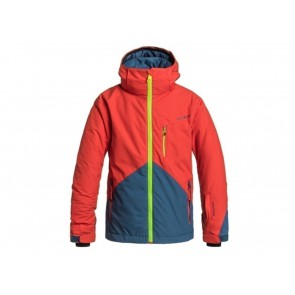 GIACCA SNOWBOARD JUNIOR QUIKSILVER INVERNO EQBTJ03003 NZG0  MISSION COLOR BLOCK Y POINCIANA/SOLID