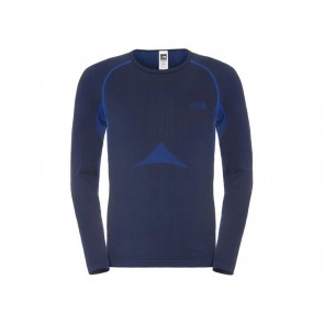 MAGLIA STRATO BASE UOMO THE NORTH FACE INVERNO C206A7L  HYBRID BLUE