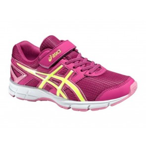 SCARPE JUNIOR ASICS  C522N 2107  PRE GALAXY 8 BERRY/FL.YEL/FL