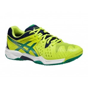 SCARPE JUNIOR ASICS  C501Y 0588  GEL RESOLUTION LIME/PINE/INDIGO