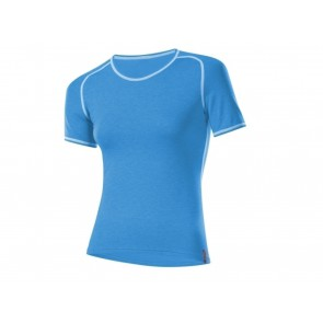 T-SHIRT DONNA LOFFLER INVERNO 10744 434 MM TRANSTEX BLU IRIS