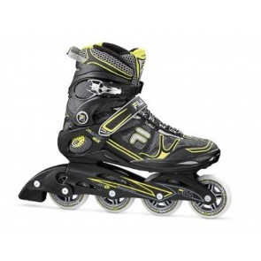 PATTINI UOMO FILA  010613230 MASTER GLX 13 BLACK/YELLOW