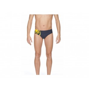 COSTUME UOMO ARENA  2A766 73  BACKJUMP NAVY LILY YELLOW