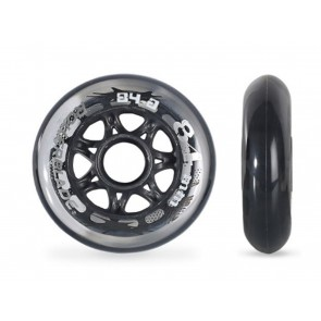 RUOTE PATTINI RICAMBIO 8 PCS  ROLLERBLADE  062322  WHEELS PACK 84MM/84A NEUTRAL