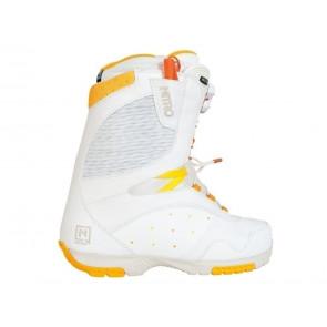 SCARPONI SNOWBOARD DONNA NITRO  848283 002  CROWN TLS WHITE/ORANGE/YELLOW