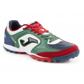 SCARPE CALCETTO UOMO JOMA  TOPW.726.TF  TOP FLEX 726 DRIBLING VERDE/BIANCO