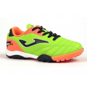 SCARPE CALCETTO JUNIOR JOMA  TOLIW.711.TF  TOLEDO JR 711 TURF GIALLO FLUORESCENTE