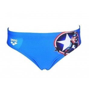 COSTUME JUNIOR ARENA  000247 720  MARVEL JR BRIEF CAPITAN AMERICA
