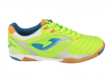 SCARPE CALCETTO SUOLA LISCIA UOMO JOMA  DRIS 615 PS  DRIBLING 615 INDOOR FLUOR/ROYAL/ORANGE