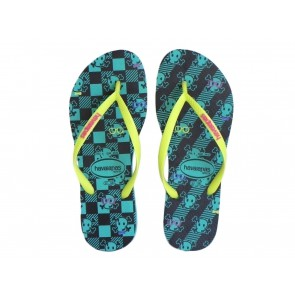 CIABATTE INFRADITO DONNA HAVAIANAS  4119872 1424  SLIM COOL POOL GREEN