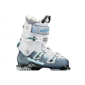 SCARPONI SCI DONNA SALOMON  325987  QUEST 80 W COLD SEA/WHITE