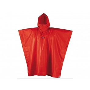 PONCHO IMPERMEABILE UNISEX CAMP  1997 1 RAIN STOP ROSSO