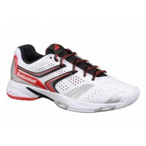 SCARPE TENNIS DONNA BABOLAT  31S1397 184  DRIVE 3 ALL COURT W WHITE/PINK