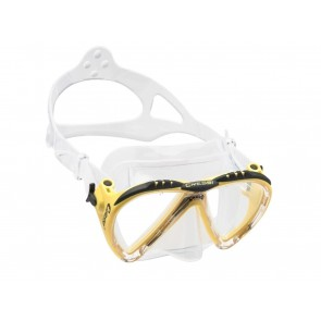MASCHERA  CRESSI  DS3110 10 LINCE CLEAR/GIALLO