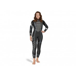 MUTA DONNA MARES  412516 WETSUIT REEF 3 MM SHE DIVES NERO
