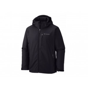 GIACCA UOMO COLUMBIA  1557532 010  GATE RACER SOFTSHELL BLACK