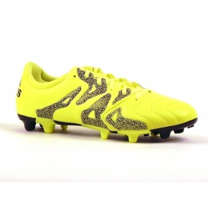 SCARPE CALCIO UOMO ADIDAS  B26970  X 15.3 LEA FIRM/ARTIFICIAL SOLAR YELLOW