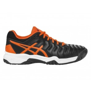 SCARPE TENNIS JUNIOR ASICS  C700Y 9030  GEL RESOLUTION 7 GS BLACK