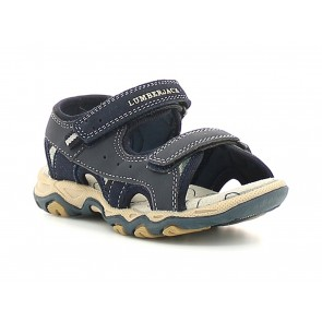 SANDALI BAMBINO JUNIOR LUMBERJACK ESTATE SB07606 010  LEVI NAVY BLUE