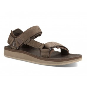 SANDALI UOMO TEVA ESTATE 1015928  ORIGINAL UNIVERSAL PREMIER CHOCOLATE BROWN
