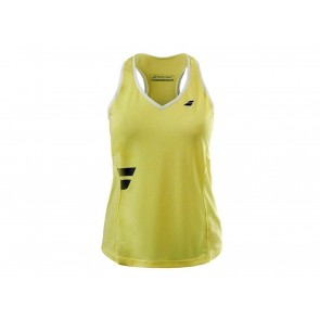 TOP DONNA BABOLAT  3WS17071 223  CORE CROP TOP W JAUNE/PALE