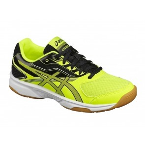 SCARPE VOLLEY JUNIOR ASICS  C734Y 0795  UPCOURT 2 GS YELLOW/DARK GREY/BLACK
