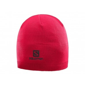 BERRETTO UNISEX SALOMON INVERNO 395072  SALOMON BEANIE BARBADOS CHERRY