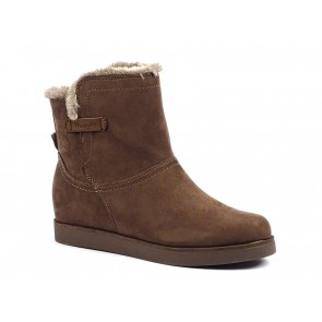 STIVALETTI DONNA WRANGLER INVERNO WL172550 2  TERRY BOOTIE TAUPE