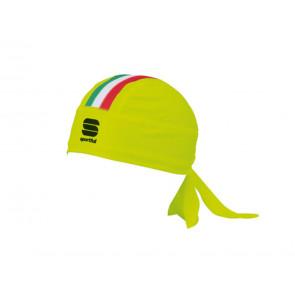 BANDANA CICLISMO  SPORTFUL  1101782 091  ITALIA YELLOW/FLUO/TRICOLORE