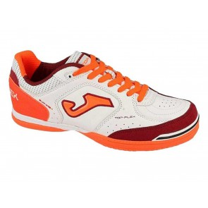 SCARPE CALCETTO UOMO JOMA  TOPW817  TOP FLEX INDOOR BLANCO CORAL