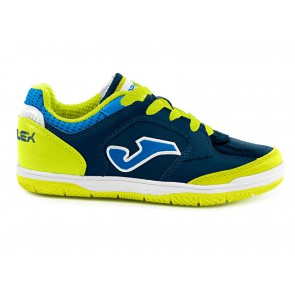 SCARPE CALCETTO JUNIOR JOMA  TOPJW803  TOP FLEX JR INDOOR MARINO