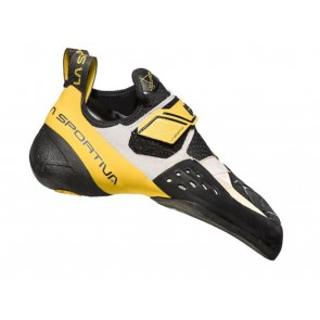 SCARPE ARRAMPICATA UOMO LA SPORTIVA  20G000100  SOLUTION WHITE / YELLOW