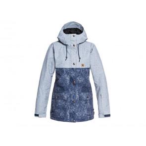 GIACCA SNOWBOARD DONNA DC  EDJTJ03036 BSN6  CRUISER JKT W BLUE JEANS