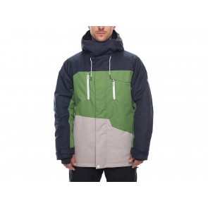 GIACCA SNOWBOARD UOMO 686 INVERNO L8W113 N  GEO INSULATED NAVY COLORBLOCK