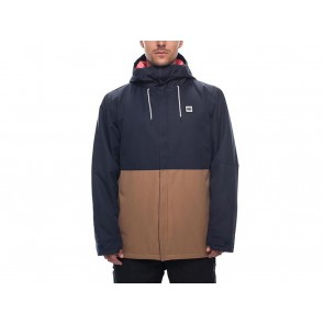 GIACCA SNOWBOARD UOMO 686 INVERNO L8W117  FOUNDATION INSULATED NAVY COLORBLOCK