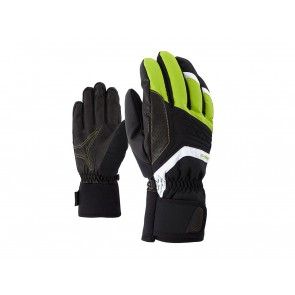 GUANTI SCI  ZIENER  181001 568  GALVIN AS LIME GREEN