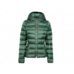 GIACCA PIUMINO DONNA CANADIENS INVERNO 0193 0455  LISBET W ENGLISH/GREEN