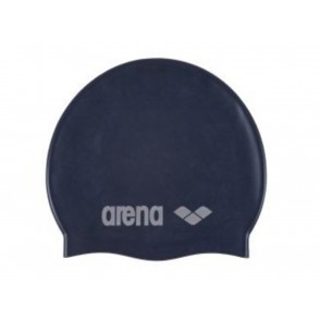 CUFFIA PISCINA JUNIOR ARENA  91670 071  CLASSIC SILICONE JR DENIM SILVER
