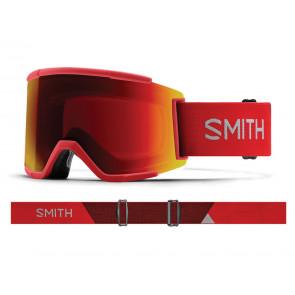MASCHERA SCI SNOWBOARD + LENTE OMAGGIO  SMITH  M00675 MP 2Y9  SQUAD XL CHROMAPOP RISE
