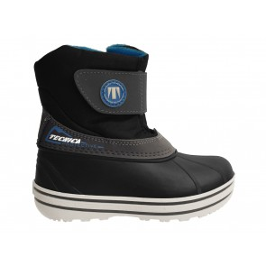 DOPOSCI BAMBINO JUNIOR TECNICA INVERNO 35314500012  TENDER PLUS BLACK/LIGHT BLUE