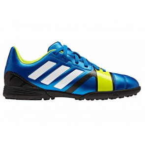 SCARPE CALCETTO JR JUNIOR ADIDAS  Q33718  NITROCHARGE 3.0 TRX TF J BLUE
