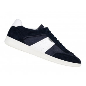 SCARPE SNEAKERS UOMO GEOX ESTATE U926FA 02214 C4211  KENNET NAVY AND WHITE