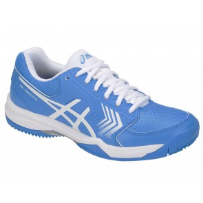 SCARPE TENNIS DONNA ASICS  E758Y 406  GEL-DEDICATE 5 BLUE COAST/WHITE