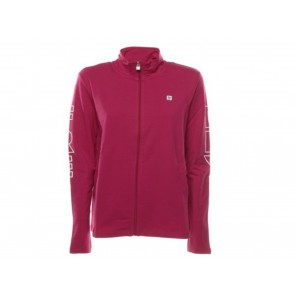 FELPA DONNA FREDDY ESTATE S9WCYLS5 F90W  SWEATSHIRT BORDO/WHITE
