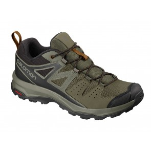 SCARPE TREKKING BASSE UOMO SALOMON  406750  X RADIANT GRAPE LEAF/CASTOR GRAY/CATHAY