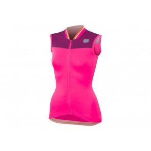 SMANICATO CICLISMO DONNA SPORTFUL ESTATE 1101901 587  GRACE W BUBBLE GUM/VICTORIAN/PURPLE