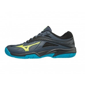 SCARPE PALLAVOLO VOLLEY JUNIOR MIZUNO  V1GD180347  LIGHTNING STAR Z4 JR OMBRE BLUE/SAFETY YELLOW