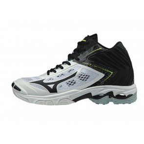 SCARPE PALLAVOLO VOLLEY UOMO MIZUNO  V1GA190509  WAVE LIGHTNING Z5 MID WHITE/BLACK