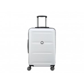 VALIGIA MEDIA TROLLEY 4R DOPPIE  DELSEY  00303981011  COMETE 67 CM SILVER GREY